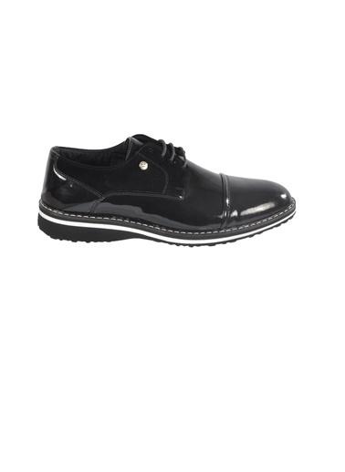 GUZZY 323.14 Siyah Erkek Günlük Ayakkabı Siyah